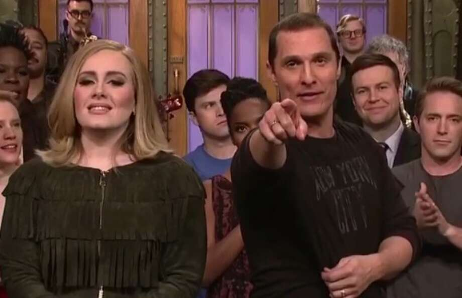Matthew McConaughey Hosts 'SNL': Adele Helps Deliver an All Right, All  Right, All Right Episode