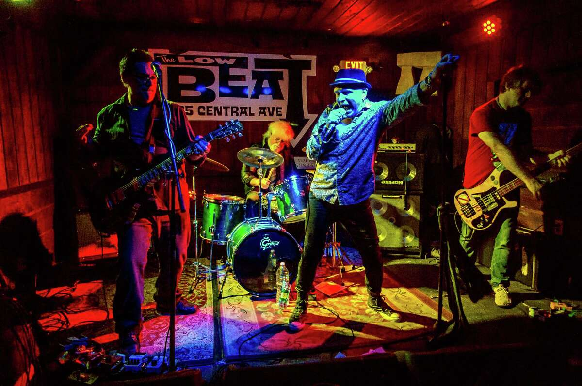The Last Conspirators jam out at The Low Beat on Central Avenue in Albany. (Photo by BDL Photography)