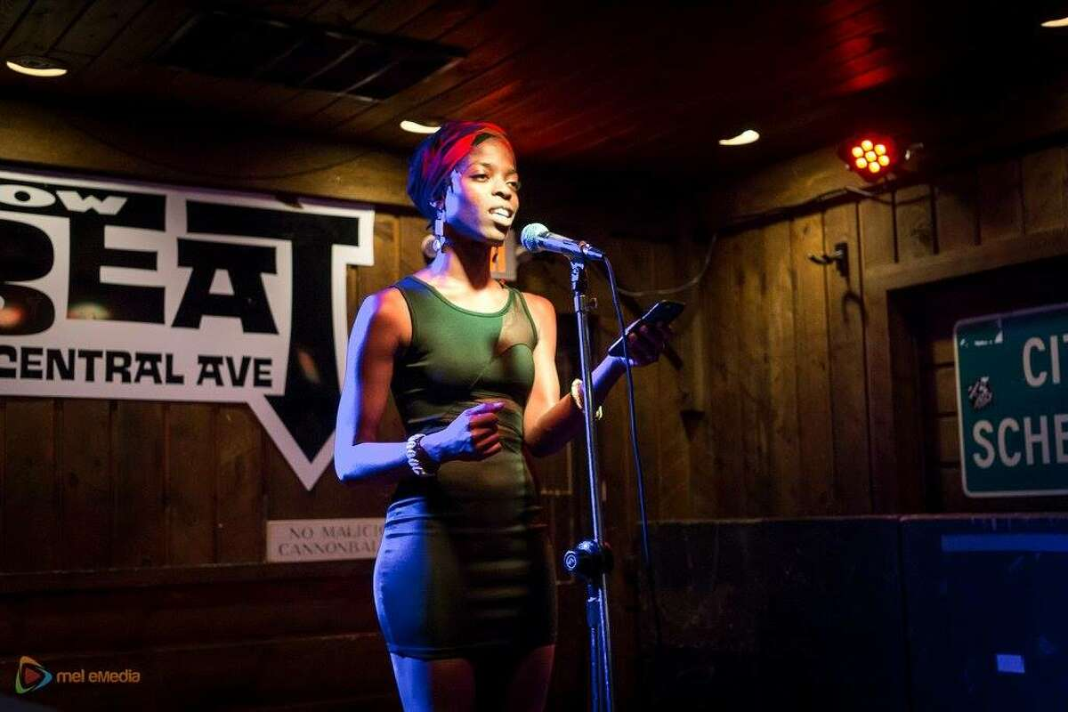 Hear a poetry slam at The Low Beat