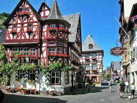 The Rhine-side village of Bacharach is an inviting place to linger.