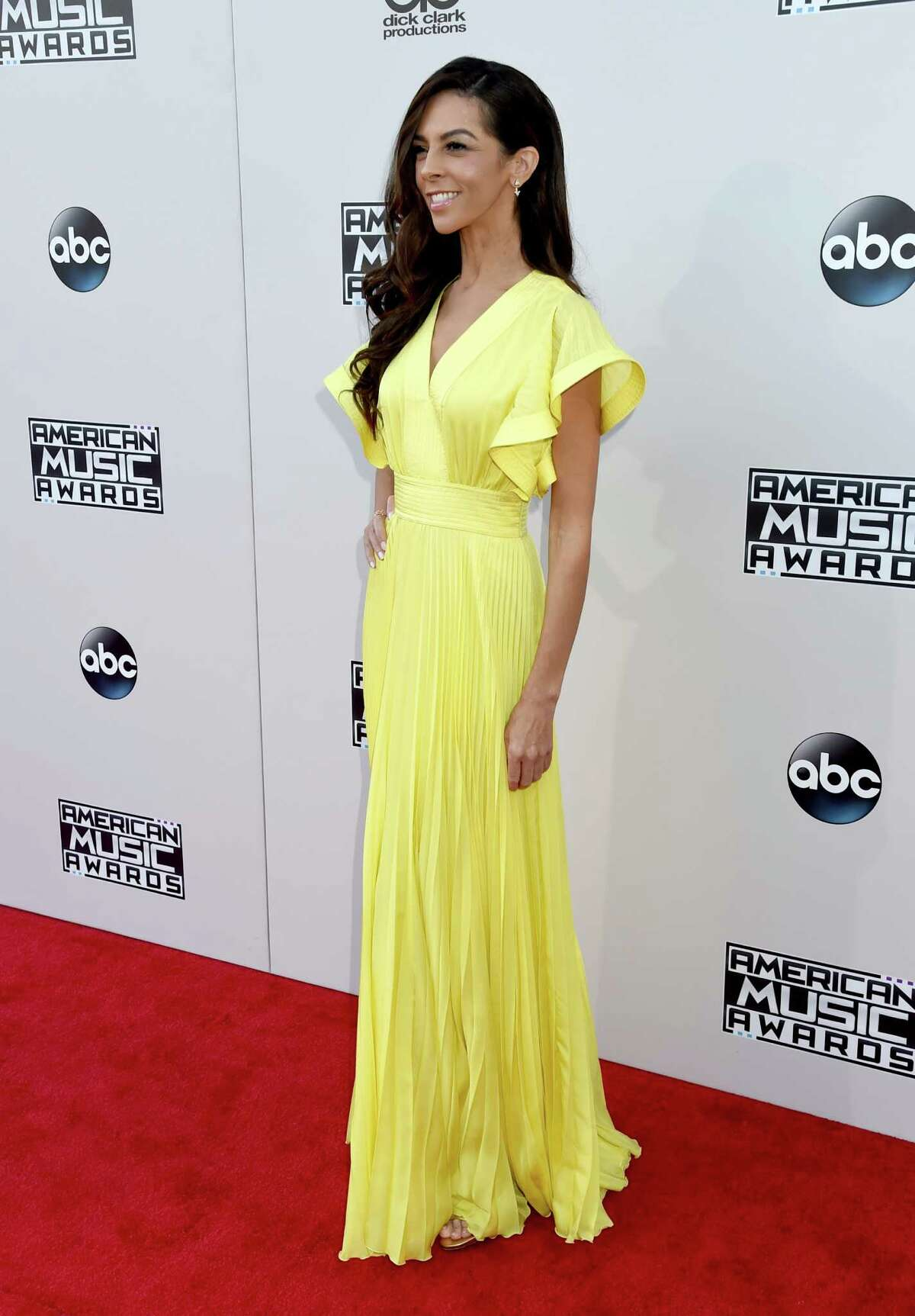 TV personality Terri Seymour attends the 2015 American Music Awards at Microsoft Theater on November 22, 2015 in Los Angeles, California.
