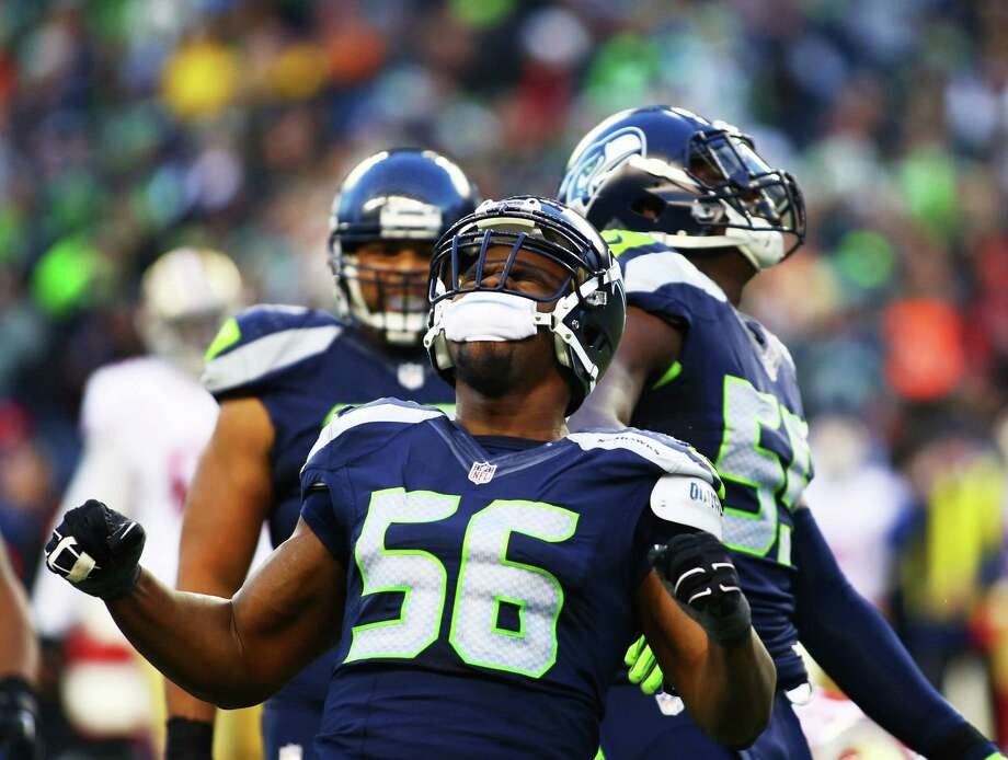 10. DE Cliff AvrilWhat makes him irreplaceable? The 30-year-old Avril is Seattle's best pure pass rusher, tallying 26 sacks since joining the team as rotational end ahead of the 2013 season. When he gets to the quarterback, bad things happen to opposing offenses, as evidenced by his 11 forced fumbles in three-plus years in Seattle. He even causes problems when he doesn't get to the quarterback, like in 2015 when he ranked seventh in the NFL with 31 quarterback hurries. Photo: GENNA MARTIN, SEATTLEPI.COM / SEATTLEPI.COM
