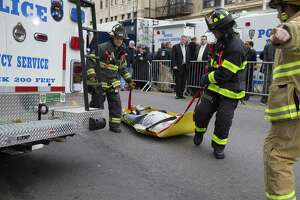 Terror attack drill in NYC - Photo