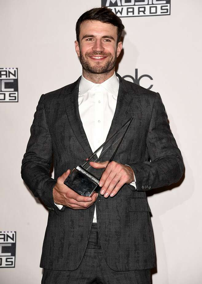 LOS ANGELES, CA - NOVEMBER 22:  Recording artist Sam Hunt, winner of New Artist of the Year, poses in the press room during the 2015 American Music Awards at Microsoft Theater on November 22, 2015 in Los Angeles, California.  (Photo by Jason Merritt/Getty Images) Photo: Jason Merritt, Getty Images