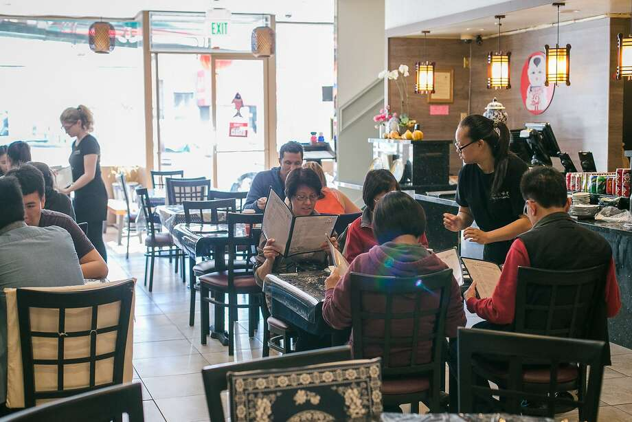 Holly Qin takes an order at Taste of Jiangnan on Clement Street in S.F. Photo: Jen Fedrizzi, Special To The Chronicle