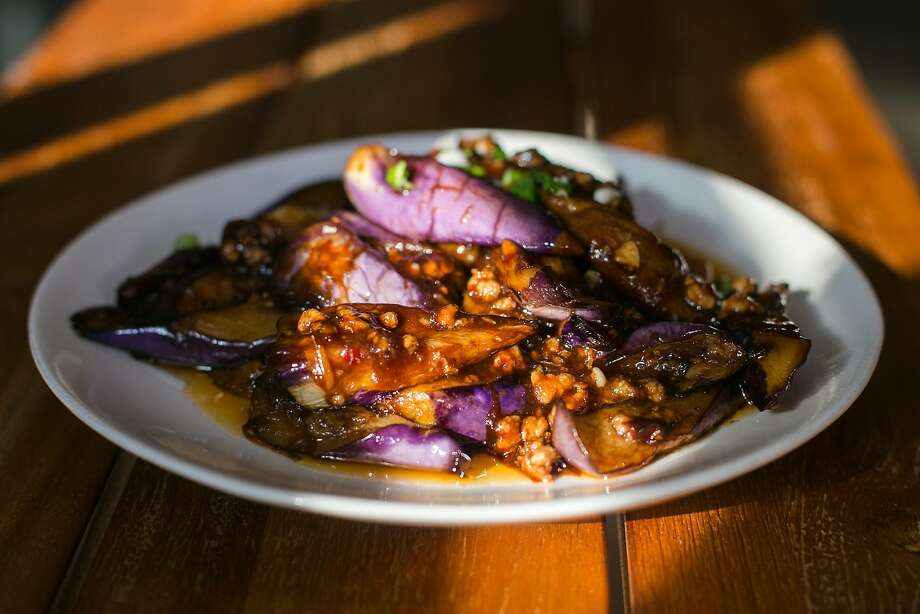Eggplant and pork at Taste of Jiangnan in San Francisco. Photo: Jen Fedrizzi, Special To The Chronicle