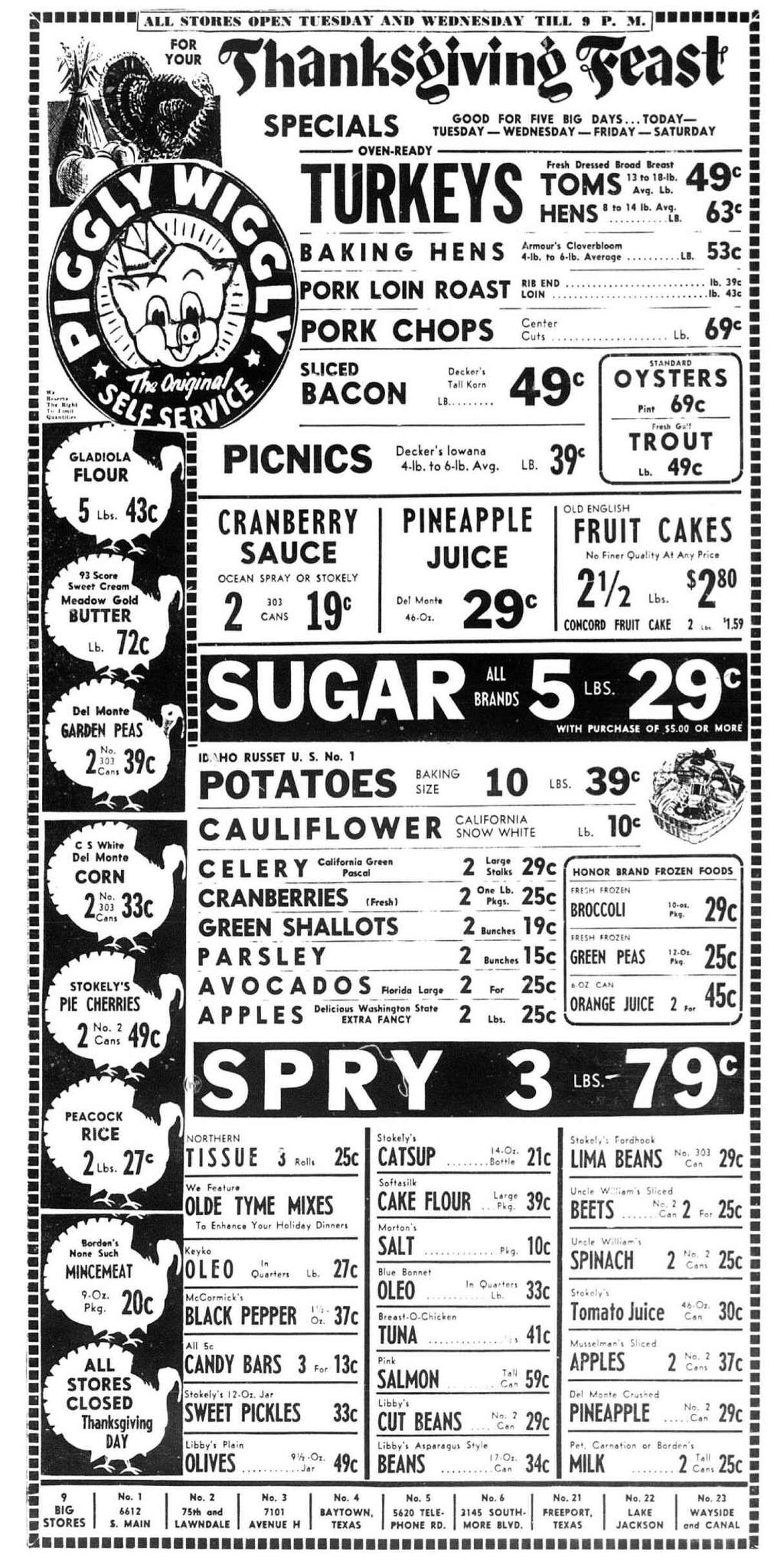 Beginning On Sept. 9, 1916, Clarence Saunders opened the first Piggly Wiggly store in Memphis. Its innovation: It allowed customers to pick up grocery items themselves.