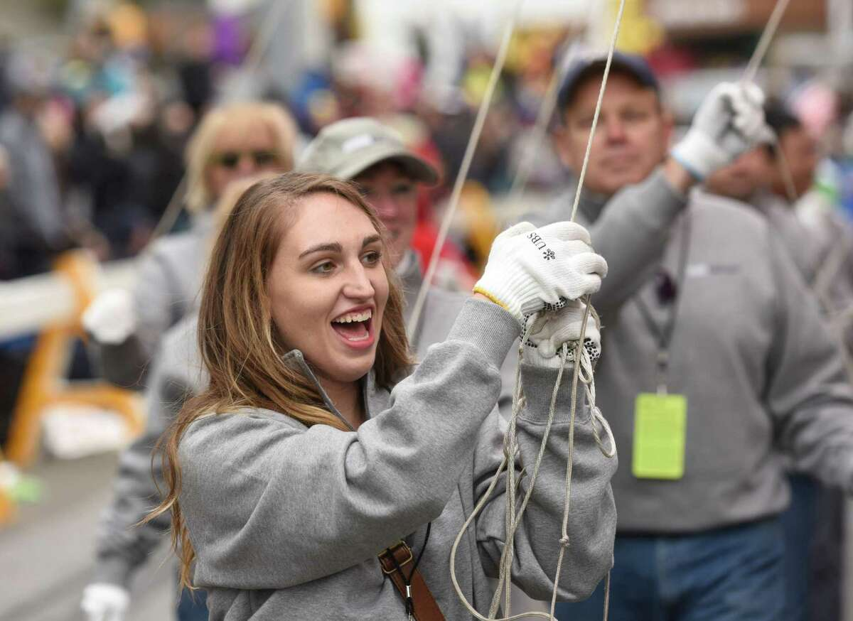 Photos from the UBS Parade Spectaular in downtown Stamford, Conn. Sunday, Nov. 22, 2015. The annual balloon parade, presented by Stamford Town Center and the Stamford Advocate and Hearst CT Media, featured giant helium balloon characters, award-winning marching bands and floats.