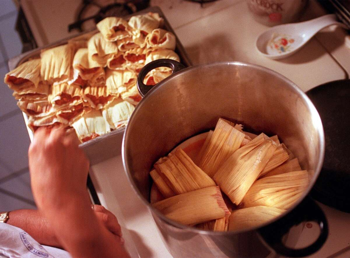 Tamale time! Your Christmas dinner might consist of this...