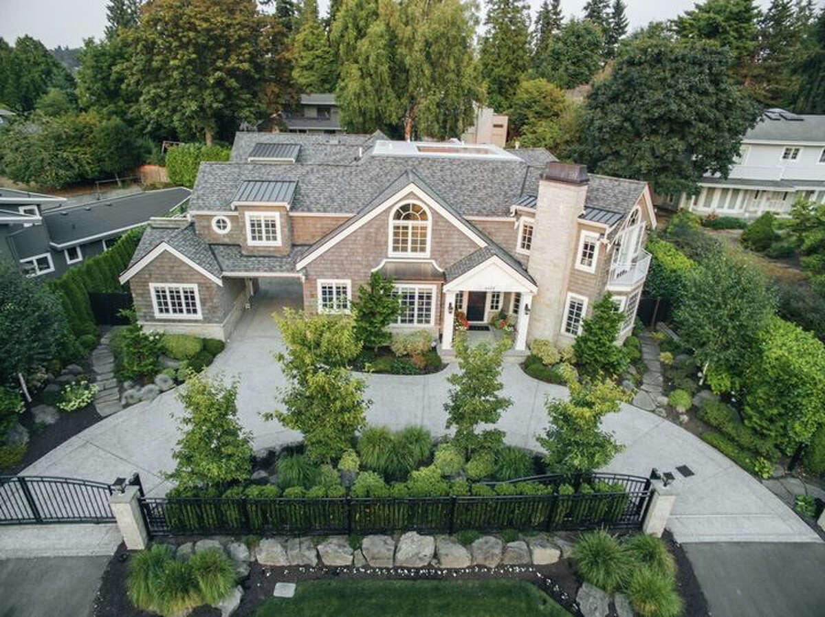 The home sits on almost a third of an acre. It's listed for $3.688 million. A sale is pending.