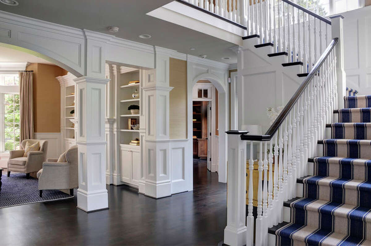 Here is the entry to the home.