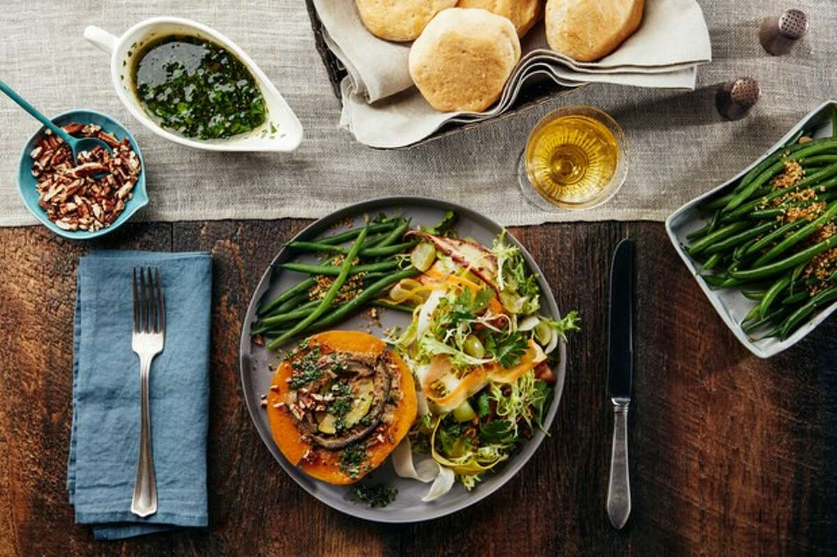 The editors of Epicurious.com created a meatless version of the turducken for Thanksgiving this year: The Vegducken.
