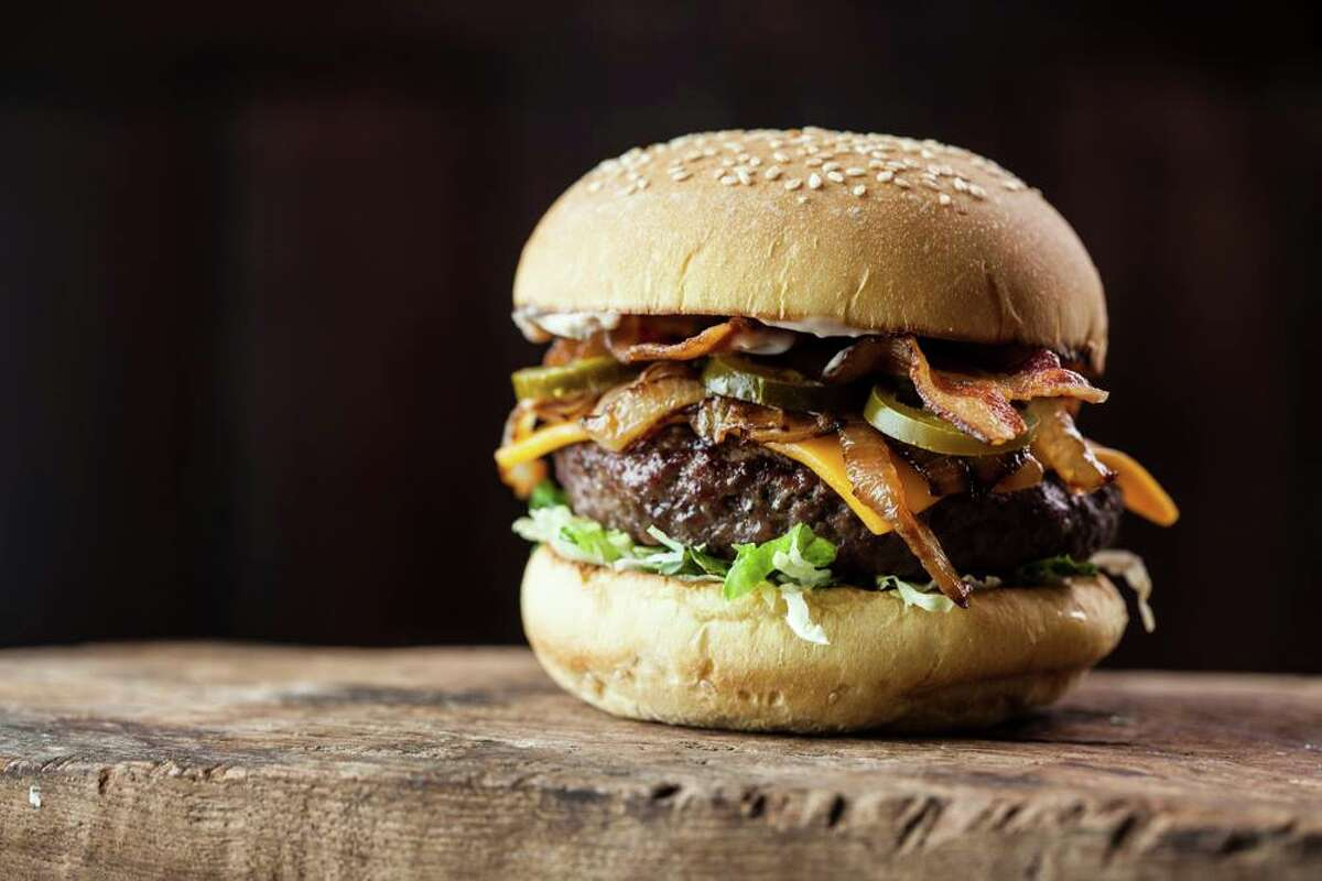 At Becks Prime, Bill's Burger includes cheddar, sauteed onion, bacon and jalapeno.
