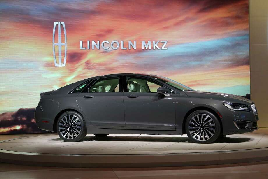 The Lincoln MXZ is presented at the 2015 Los Angeles Auto Show on November 18, 2015 in Los Angeles, California. The LA Auto Show was founded in 1907 and is the first major North American auto show of the season each year. Photo: David McNew, Getty Images / 2015 Getty Images