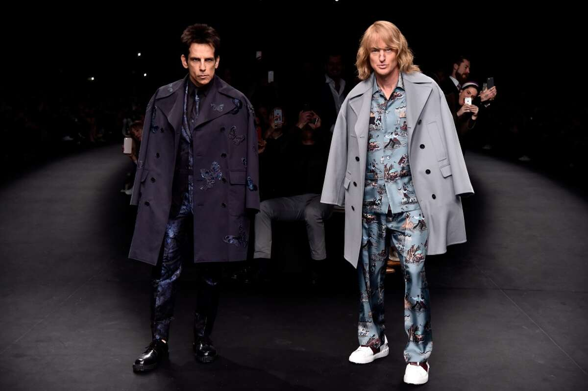 """""""Zoolander 2"""" What it's about:Plot details are being held close, but we do know that Derek (Ben Stiller) and Hansel (Owen Wilson) are back to being really, really, really, ridiculously good-looking. And they'll have to fight a rival company trying to take them out of the industry. Release date:February 12"""