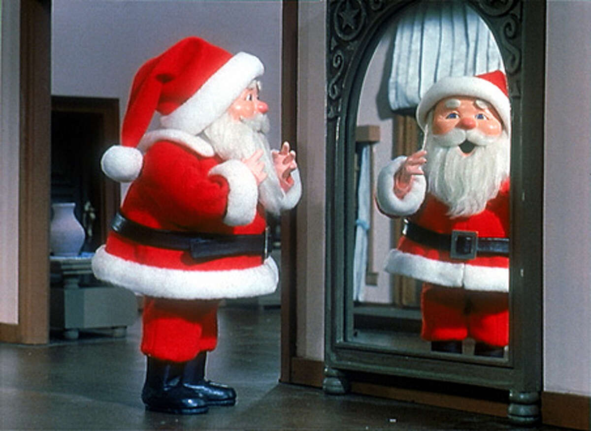 """""""I Saw Mommy Kissing Santa Claus"""" Your dilemma: Spill the beans about the whole Santa deal or reinforce this wee child's belief that Mom is stepping out on Dad."""