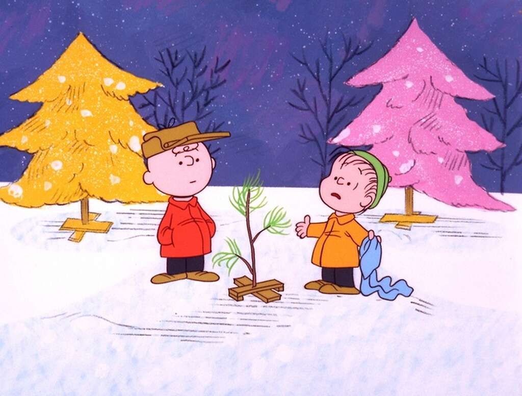 Marvelous Charlie Brown Christmas Tree Farm Part - 11: The WhyIn 1965, Peanuts Was A Wildly Popular Comic Strip Drawn By Charles  Schulz.