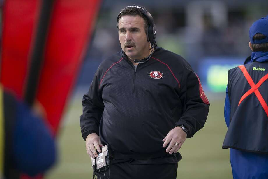 The 49ers are 3-7 under head coach Jim Tomsula this season after a 29-13 loss in Seattle on Sunday. Photo: Stephen Brashear, 2015 Getty Images