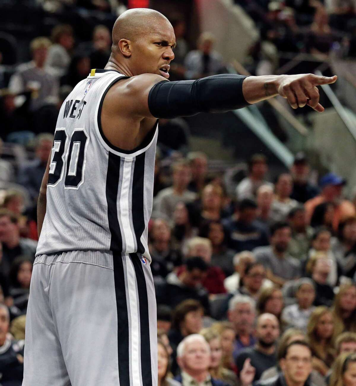 On new Spur David West: