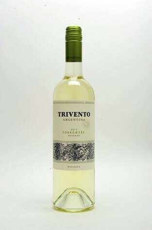 Trivento Torrontes 2013 in the Times Union studio Thursday July 23, 2015 in Colonie, NY.   (John Carl D'Annibale / Times Union) Photo: John Carl D'Annibale