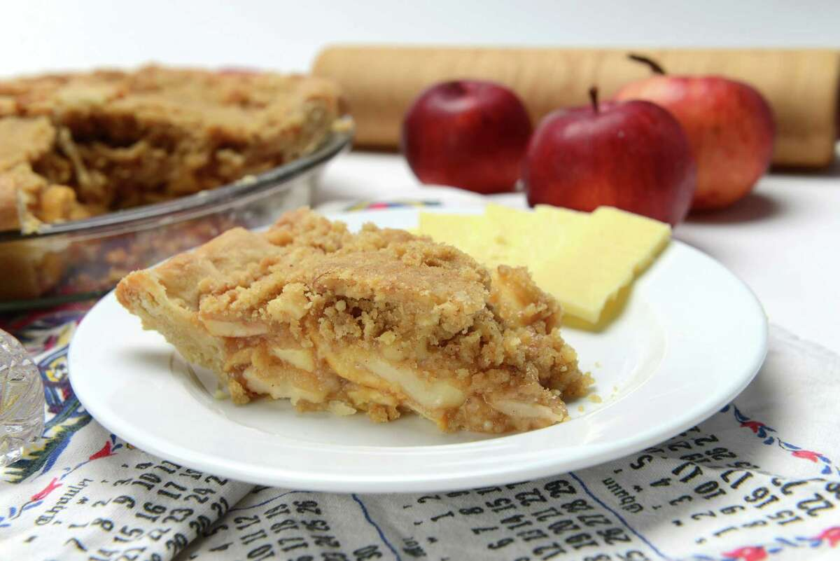 Apple pie Wednesday, Nov. 18, 2015, at the Times Union in Colonie, N.Y. (Will Waldron/Times Union)