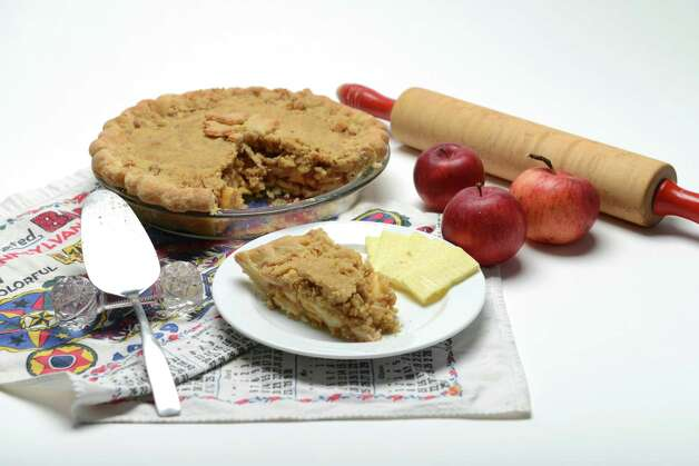 Apple pie Wednesday, Nov. 18, 2015, at the Times Union in Colonie, N.Y. (Will Waldron/Times Union) Photo: Will Waldron