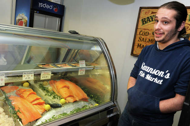 Blumenthal wants gmo salmon labeled new milford spectrum for Swanson s fish market