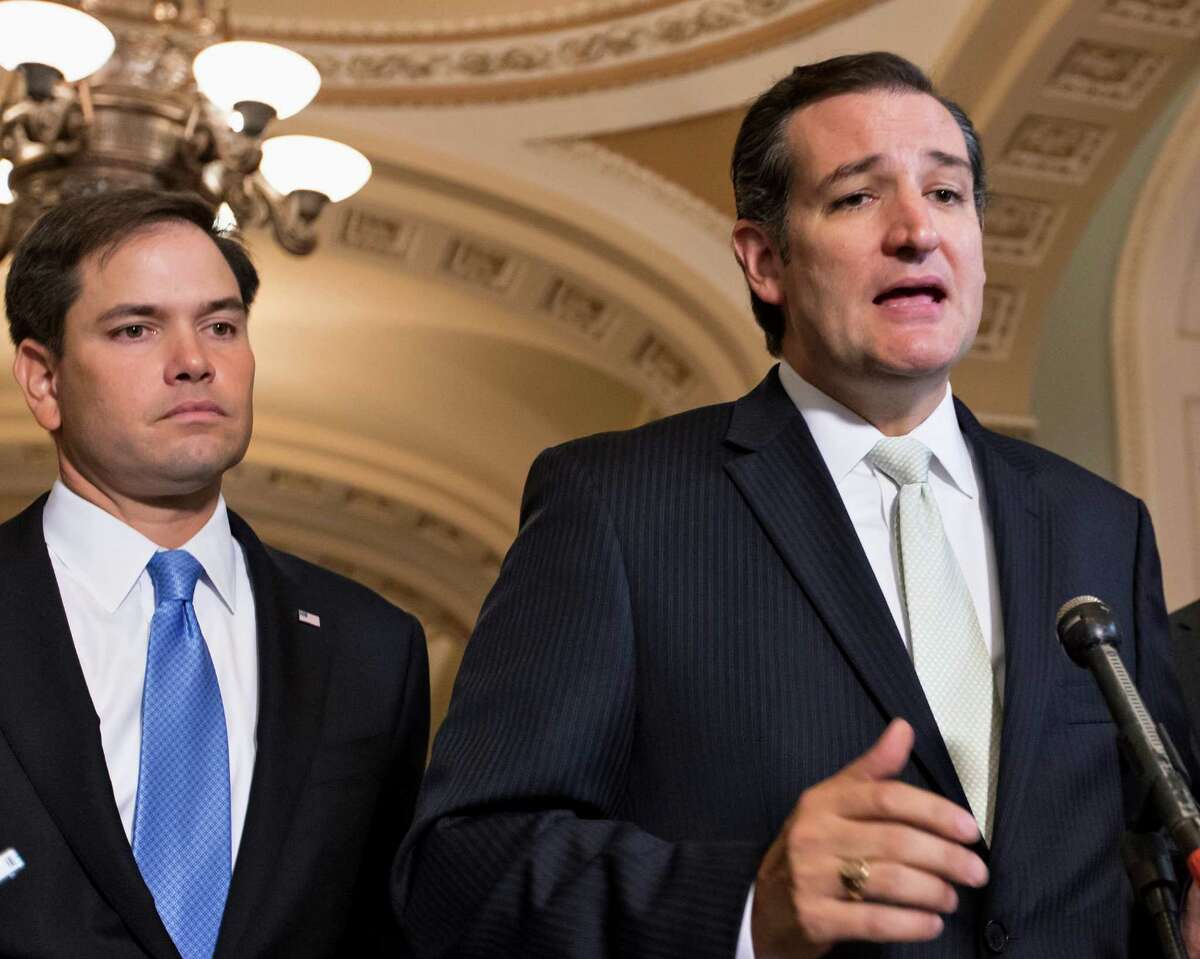 """In response to President Obama's action on guns, Marco Rubio said Obama is """"obsessed with undermining the Second Amendment,"""" while Ted Cruz averred, """"We don't beat the bad guys by taking away our guns; we beat the bad guys by using our guns."""" In a civilized society, more guns can't be better than fewer."""