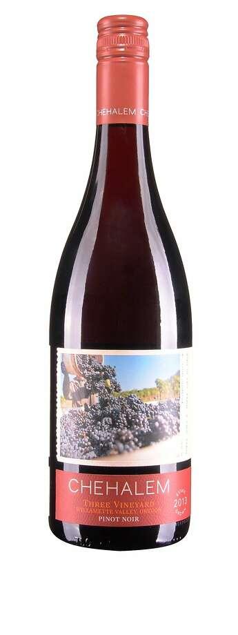 Chehalem Three Vineyard Pinot Noir Willamette Valley 2013 Photo: Courtesy Of Chehalem Wines