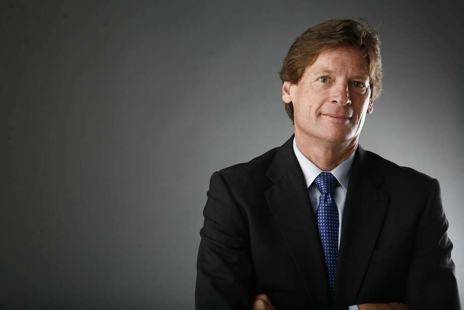 Ward Bushee, San Francisco Chronicle Exec. VP and Editor, poses for a portrait on Tuesday, June, 3, 2008 in San Francisco, Calif.  Photo by Mike Kepka / The Chronicle Photo: Mike Kepka, The Chronicle