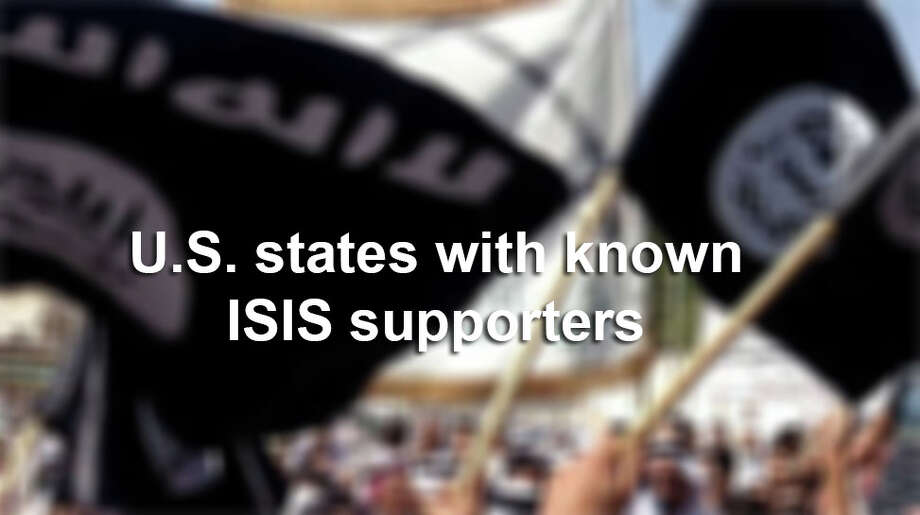 States where residents have been charged with supporting ISIS activities.