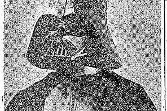 "Darth Vader, as featured in The Chronicle before the release of ""Star Wars."""
