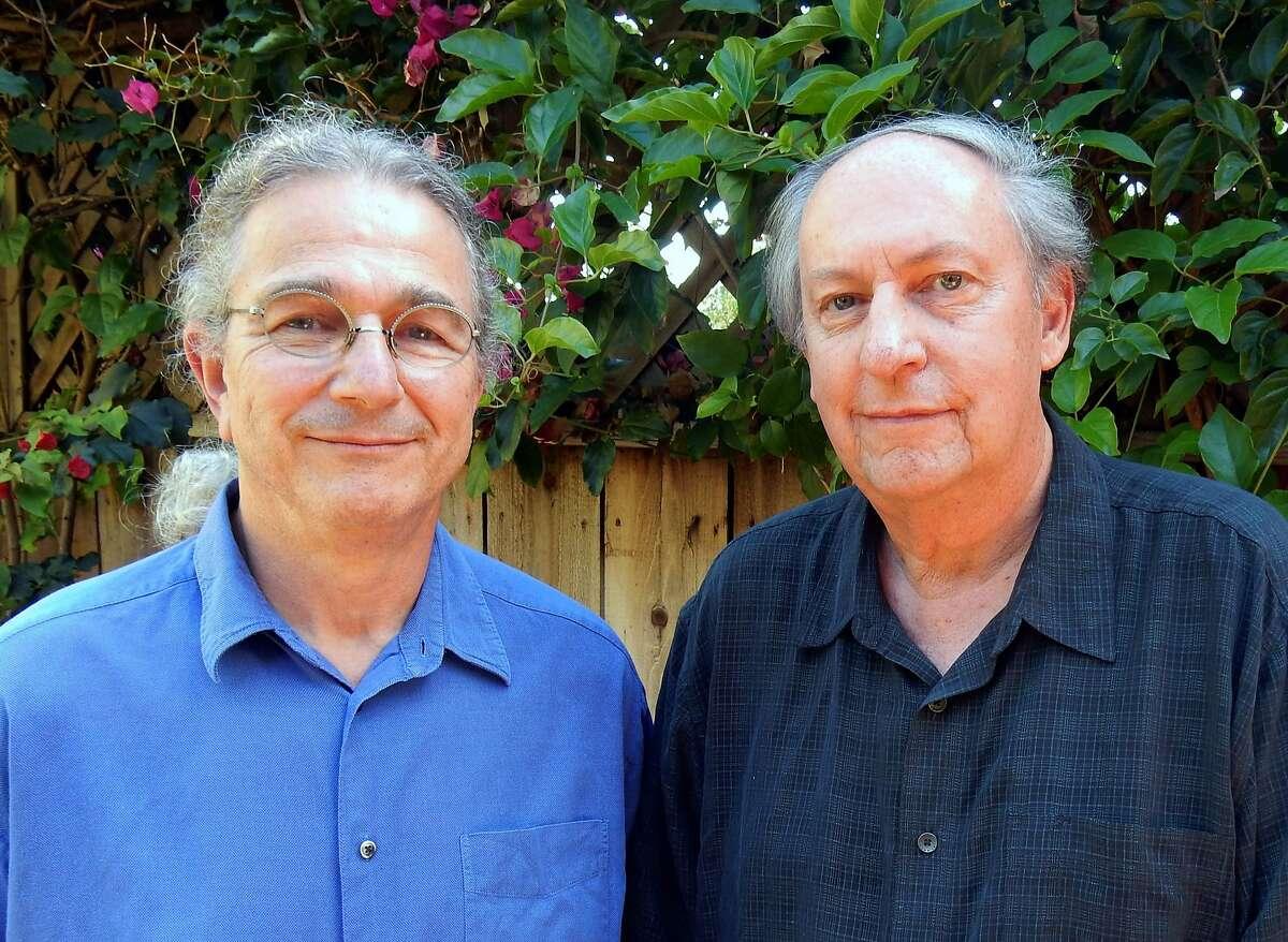 David Gans, left, and Blair Jackson