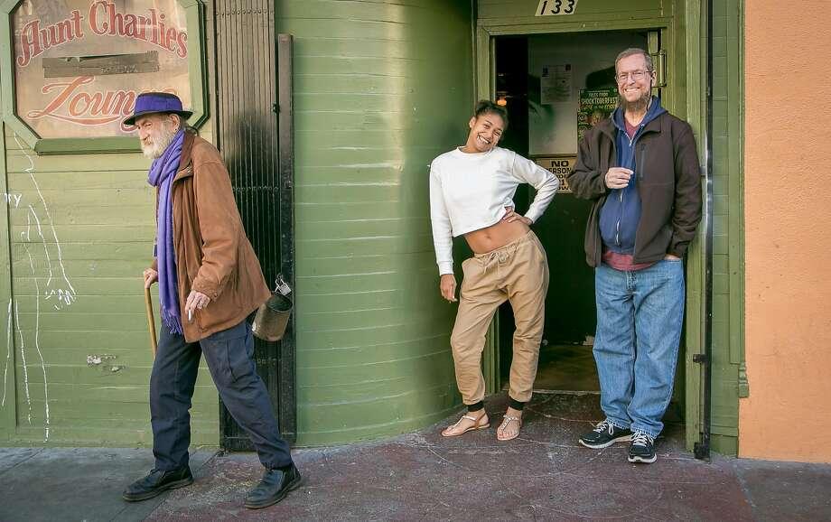 Aunt Charlie's bar in San Francisco's Tenderloin neighborhood. Photo: John Storey, Special To The Chronicle