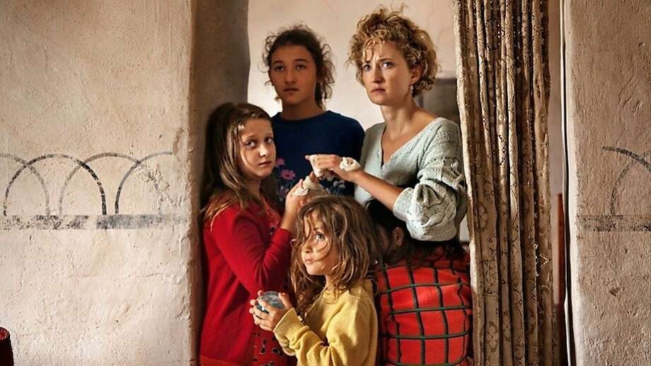 Agnese Graziani (left), Maria Alexandra Lungu, Maria-Stella Morrow and Alba Rohrwacher. Photo: Rai Cinema