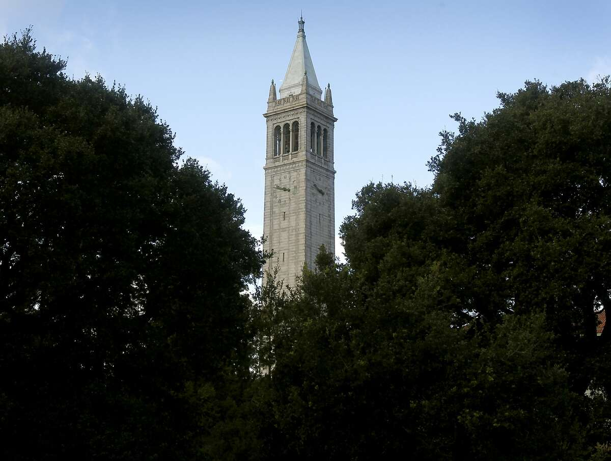 The Campanile rises above a grove of trees at UC Berkeley on Wednesday, Dec. 29, 2010.