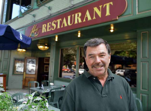 Raymond Morris, proprietor of Lillian's Restaurant in Saratoga Springs Thursday Sept. 6, 2012.  (John Carl D'Annibale / Times Union) Photo: John Carl D'Annibale / 00019161A