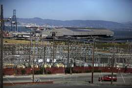 The PG&E Hunter's Point Power Plant at 1000 Evans Avenue is seen on Tuesday, April 23 2013 in San Francisco, Calif.