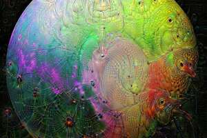 Space hallucinated by Deep Dream - Photo