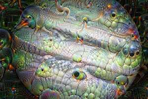 NASA photos as hallucinated by Google's Deep Dream - Photo