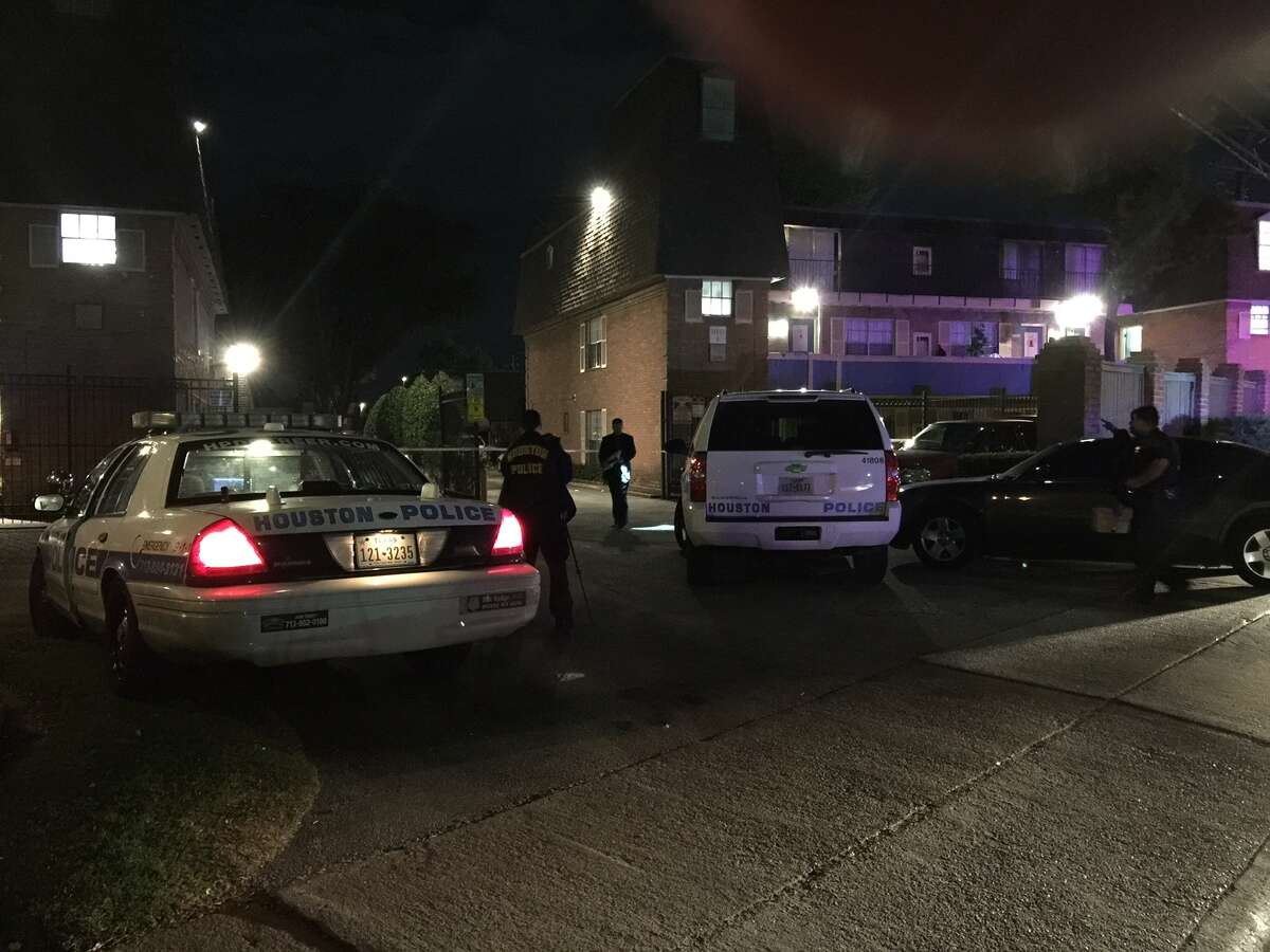 A man was fatally shot Monday night at the Cherry Cove Apartments, 5959 Bissonnet.