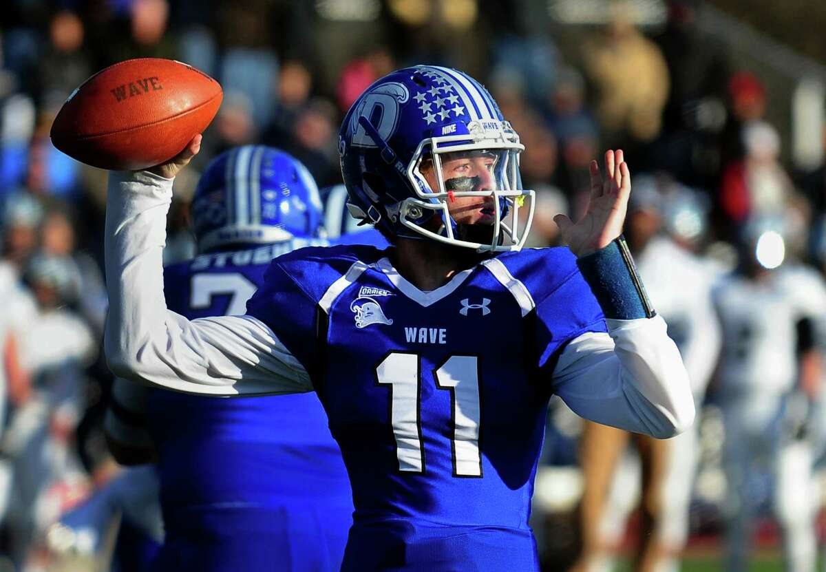 Darien quarterback Timmy Graham has blossomed in his second year as a starter for Blue Wave coach Rob Trifone.