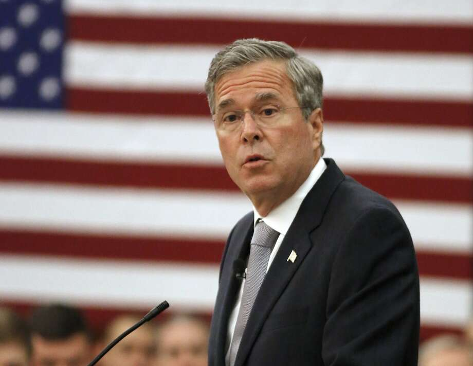 Republican presidential candidate, former Florida Gov. Jeb Bush, promises that his grand welfare reform plan will reduce waste, fraud and abuse while simultaneously empowering millions of poor people to stop being poor. Photo: Mic Smith, Associated Press
