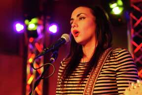 San Antonio's Nina Diaz hosted an open mic night for the rising stars in Alamo City at Limelight Nov. 23, 2015.