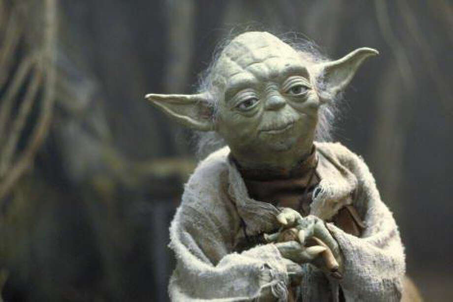 Yoda this is in the swamps of Dagoba, yes.