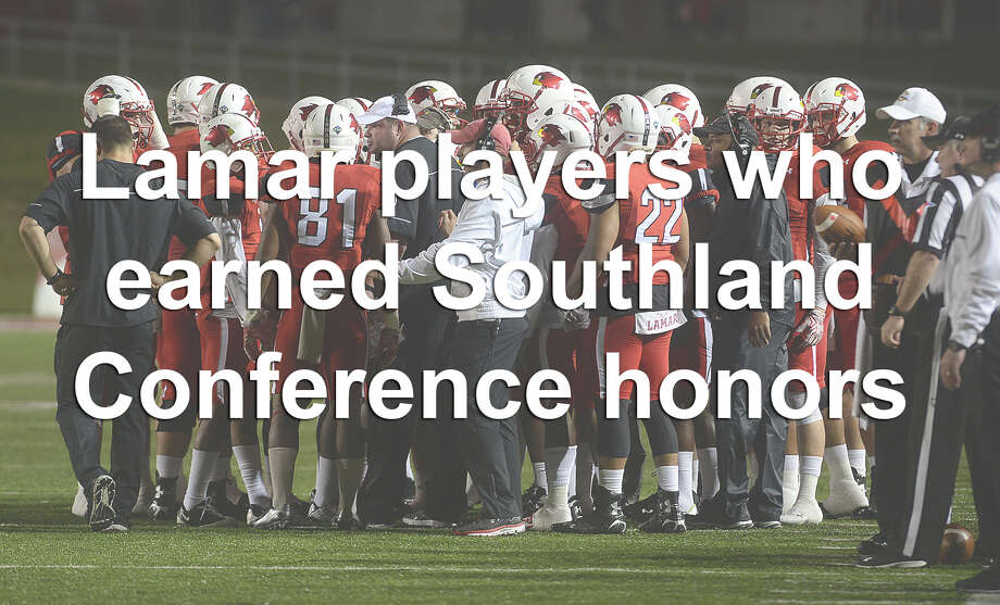 Kade Harrington won the award for SLC Offensive Player of the Year, but he wasn't the only one to earn distinction for the 2015 season. To see who else was named to the 2015 All-Southland Conference teams, click through the gallery.
