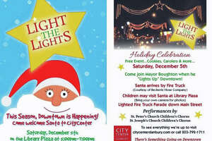 Danbury downtown holiday tree lighting event Dec. 5 - Photo