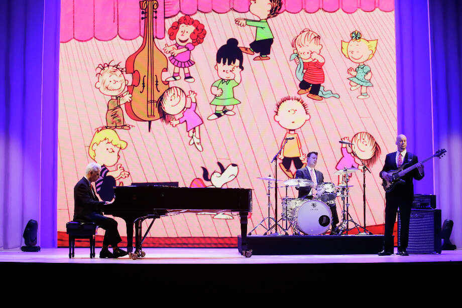 """""""It's Your 50 th  Christmas, Charlie Brown"""" (7 p.m. Monday, ABC): Everything seems to be coming up Peanuts these days — from the new movie featuring Charles Shulz's beloved animated characters to this musical extravaganza celebrating half a century of watching TV's iconic """"A Charlie Brown Christmas."""" Kristen Bell hosts the holiday retrospective, which features warm memories of the yuletide staple from a string of celebrities as well as spectacular live performances. The music will include Vince Guaraldi's spirited tunes, which have delighted multiple generations over the years, and """"Happiness"""" from Broadway's """"You're a Good Man, Charlie Brown"""" sung by Kristen Chenoweth. More numbers come from Sara McLachlan, David Benoit, Boyz II Men and the All-American Boys Chorus. Following this lively prelude is the 50th anniversary airing of the digitally remastered 1965 Christmas classic. Photo: Nicole Wilder /ABC / © 2015 American Broadcasting Companies, Inc. All rights reserved."""