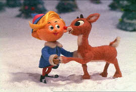 """Rudolph the Red-Nosed Reindeer"" (7 p.m. Dec. 2, CBS): This charming tale about the young misfit deer with the glowing nose who eventually becomes indispensable to Santa Claus on a snowy Christmas night remains timeless in an age that we celebrate our differences. Burl Ives voices Sam the Snowman, and the musical score from Johnny Marks continues to enchant."