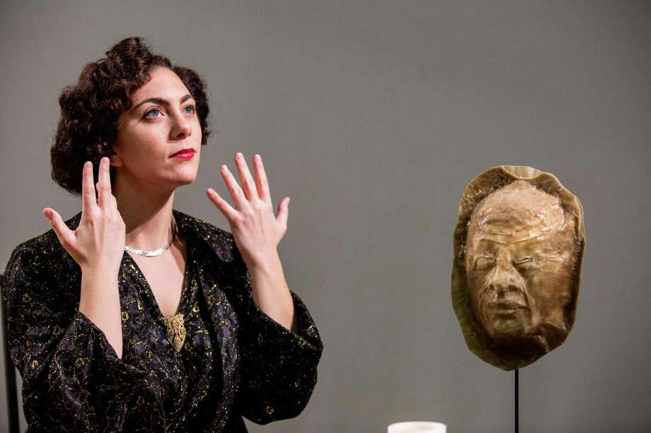 """Emily Louise Robinson in the title role of """"Frau Margot."""" The University of Houstonés Moores Opera Center earned top honors from the National Opera Associationés annual Opera Production Competition for """"Frau Margot"""" and """"Rappaccini's Daughter."""" Photo: University Of Houston"""